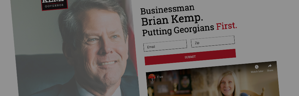 Kemp for Governor image